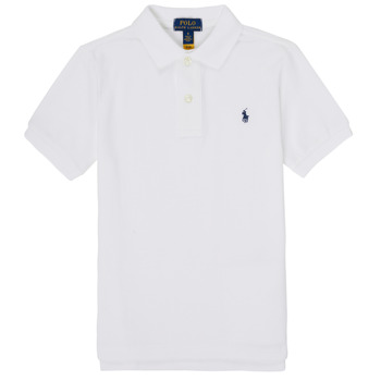 material Boy short-sleeved polo shirts Polo Ralph Lauren TUSSA White