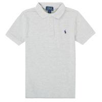 material Boy short-sleeved polo shirts Polo Ralph Lauren MENCHI Grey