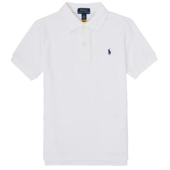 material Boy short-sleeved polo shirts Polo Ralph Lauren MENCHI White