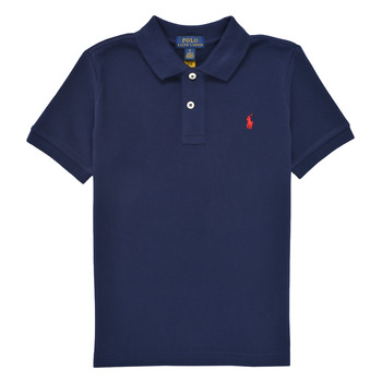 material Boy short-sleeved polo shirts Polo Ralph Lauren MENCHI Marine