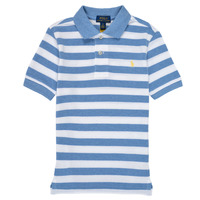 material Boy short-sleeved polo shirts Polo Ralph Lauren VRILLA Multicolour