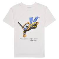 material Boy short-sleeved t-shirts Polo Ralph Lauren PITAY White