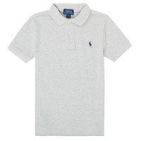 material Boy short-sleeved polo shirts Polo Ralph Lauren FRANCHI Grey