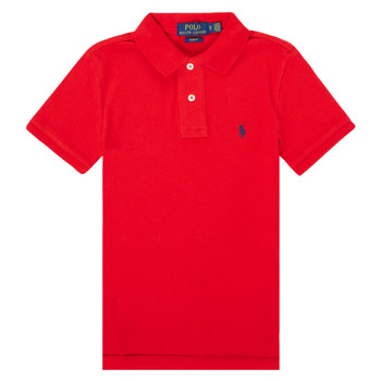 material Boy short-sleeved polo shirts Polo Ralph Lauren FRANCHI Red