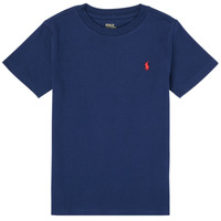 material Boy short-sleeved t-shirts Polo Ralph Lauren TINNA Marine