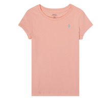 material Girl short-sleeved t-shirts Polo Ralph Lauren ROBBA Pink