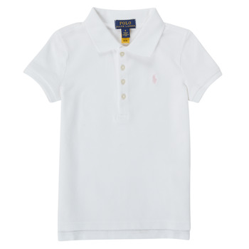 material Girl short-sleeved polo shirts Polo Ralph Lauren PIERRA White