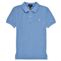 material Boy short-sleeved polo shirts Polo Ralph Lauren BLEUNI Blue
