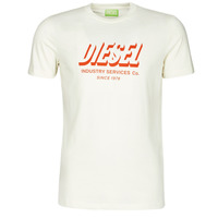 material Men short-sleeved t-shirts Diesel A01849-0GRAM-129 White