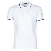 material Men short-sleeved polo shirts Diesel  White