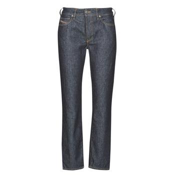 material Women straight jeans Diesel D-JOY Blue / Raw