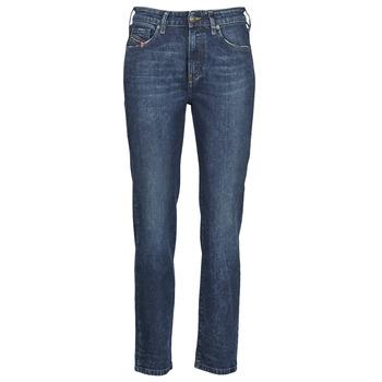 material Women straight jeans Diesel D-JOY Blue / Medium
