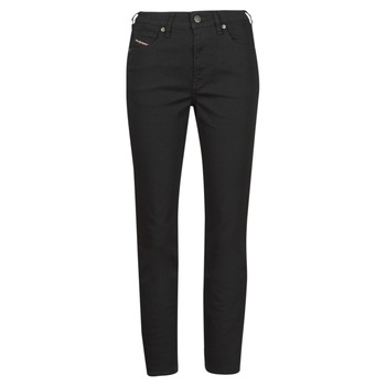 material Women straight jeans Diesel D-JOY Black