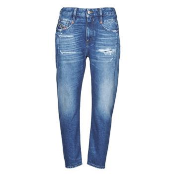 material Women Boyfriend jeans Diesel D-FAYZA Blue / Medium