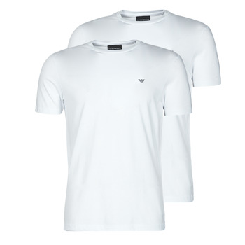 material Men short-sleeved t-shirts Emporio Armani 8N1D61-1JNQZ White