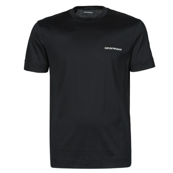 material Men short-sleeved t-shirts Emporio Armani 3K1TF3-1JUVZ Black
