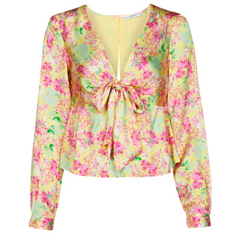 material Women Blouses Guess NEW LS GWEN TOP Multicolour