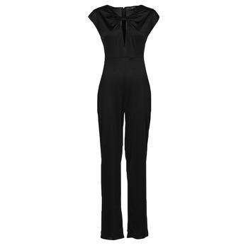 material Women Jumpsuits / Dungarees Guess ROSANNA JUMPSUIT Black