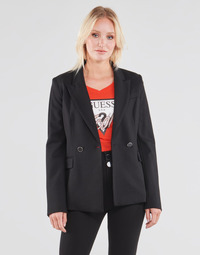 material Women Jackets / Blazers Guess MICAELA BLAZER Black