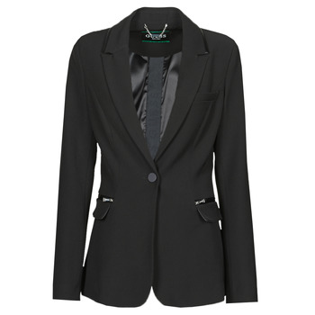 material Women Jackets / Blazers Guess SELENE BLAZER Black