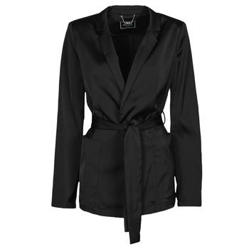 material Women Jackets / Blazers Guess DIMITRA BLAZER Black