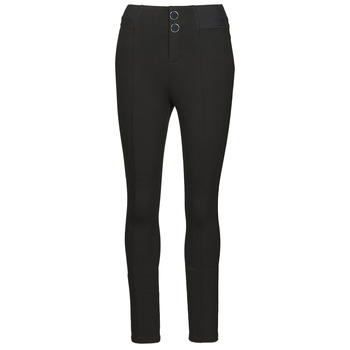 material Women leggings Guess SEBASTIANA LEGGINGS Black