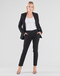 material Women 5-pocket trousers Guess ZOE PANTS Black