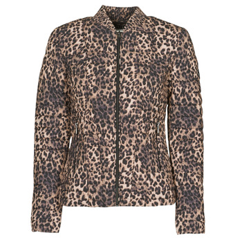 material Women Duffel coats Guess VERA JACKET Leopard