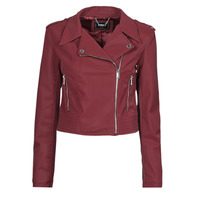 material Women Leather jackets / Imitation leather Guess NEW KHLOE JACKET Bordeaux