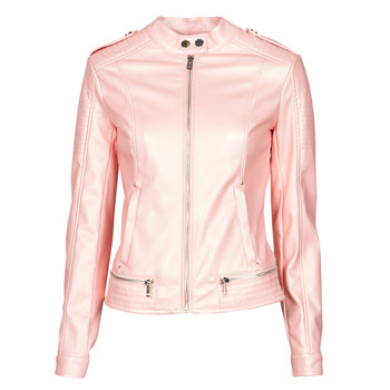 material Women Leather jackets / Imitation leather Guess NEW TAMMY JACKET Pink