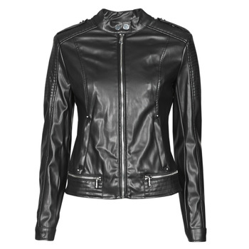 material Women Leather jackets / Imitation leather Guess NEW TAMMY JACKET Black
