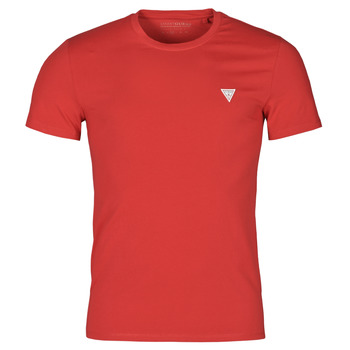 material Men short-sleeved t-shirts Guess CN SS CORE TEE Red