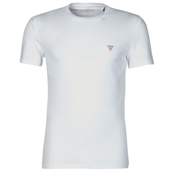 material Men short-sleeved t-shirts Guess CN SS CORE TEE White