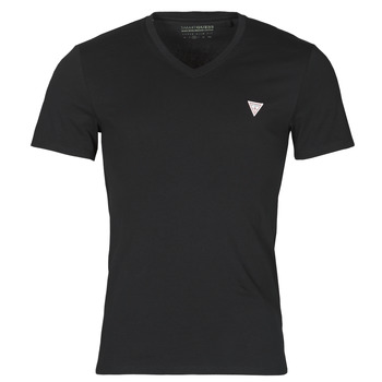 material Men short-sleeved t-shirts Guess VN SS CORE TEE Black