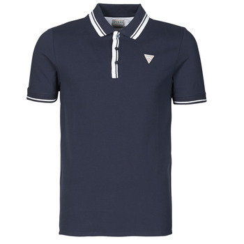 material Men short-sleeved polo shirts Guess SCOTT SS POLO Marine