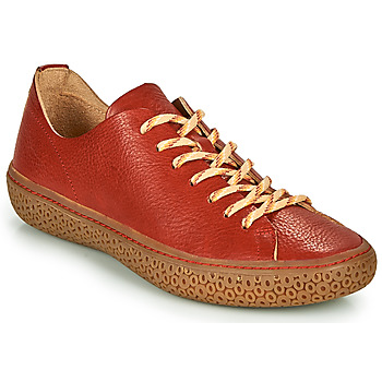 Shoes Women Low top trainers Think TJUB Red