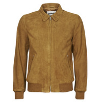 material Men Leather jackets / Imitation leather Schott LC YALES S Cognac
