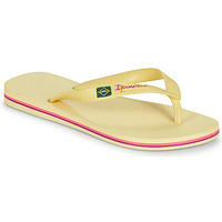 Shoes Women Flip flops Ipanema IPANEMA CLAS BRASIL II FEM Yellow