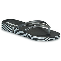 Shoes Women Flip flops Ipanema IPANEMA BOSSA SOFT V FEM Black / Silver