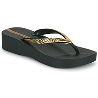 Shoes Women Flip flops Ipanema IPANEMA MESH VI PLAT FEM Black / Gold
