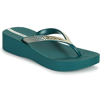 Shoes Women Flip flops Ipanema IPANEMA MESH VI PLAT FEM Green
