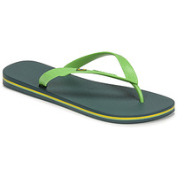 Shoes Men Flip flops Ipanema IPANEMA CLAS BRASIL II AD Green / Blue