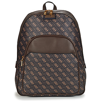 Bags Men Rucksacks Guess VEZZOLA BP Brown