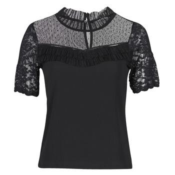 material Women short-sleeved t-shirts Morgan DANY Black