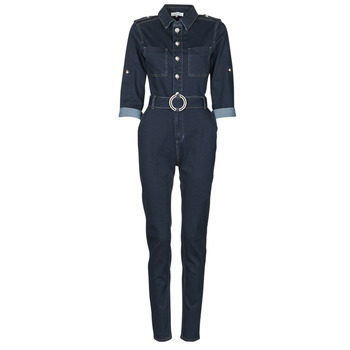 material Women Jumpsuits / Dungarees Morgan PGILI Blue / Dark