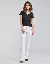 material Women 5-pocket trousers Morgan PFARAH White
