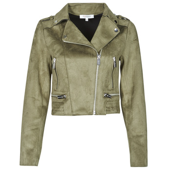 material Women Leather jackets / Imitation leather Morgan GRAMMY Green