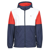material Men Macs Tommy Jeans TJM NYLON COLORBLOCK WINDBREAKER White / Red / Marine
