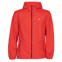 material Men Macs Tommy Jeans TJM PACKABLE WINDBREAKER Red