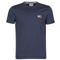 material Men short-sleeved t-shirts Tommy Jeans TJM CHEST LOGO TEE Marine
